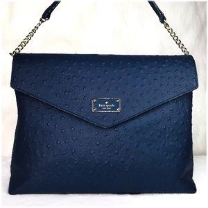 Kate Spade Leena A La Vita Ostrich Shoulder Bag
